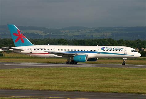 File:Boeing 757-200 First Choice Airways GLA.jpg ...