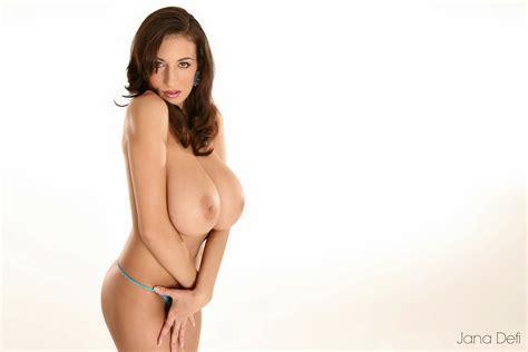 Wallpaper Jana Defi Maria Swan Model Brunette Big