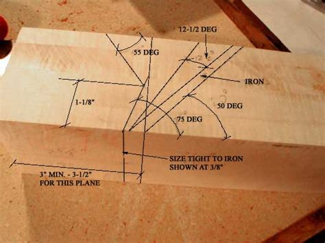 wooden build wood hand plane  plans