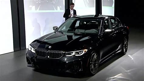 2019 Bmw M340i by 2019 Bmw M340i Xdrive Sedan Reveal At Los Angeles Auto