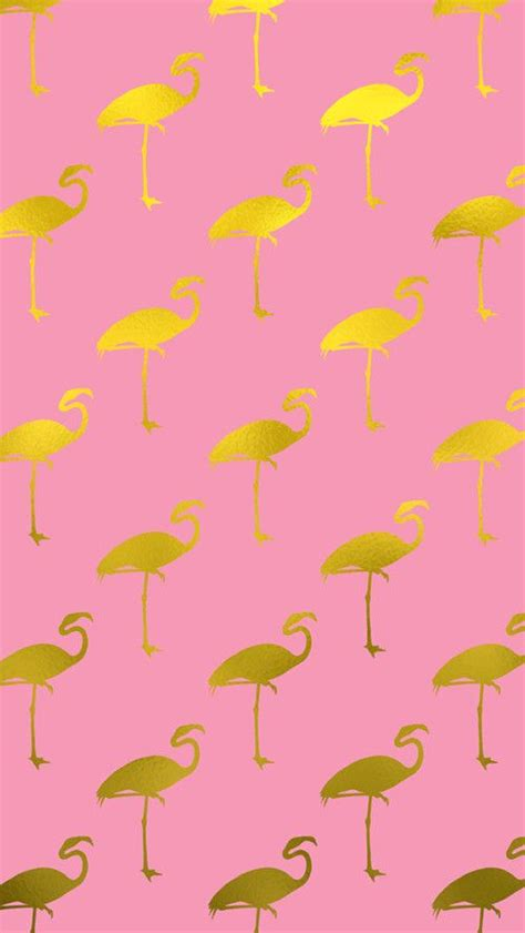 gold flamingo iphone wallpaper backgrounds in 2019