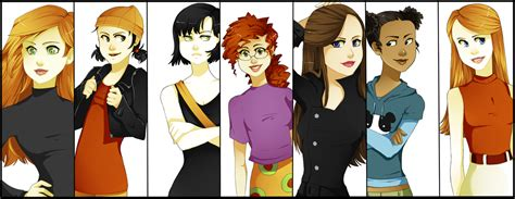Kim Possible Spinelli /recess Ingrid /fillmore Pepper Ann