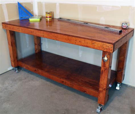 diy simple workbench project woodworking bench