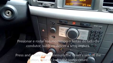 vauxhall corsa 2004 opel vauxhall vectra air conditioning control youtube