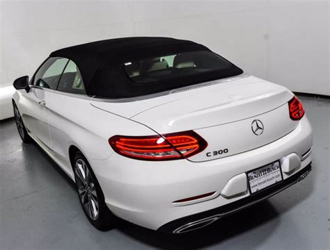 How about a little extra peace of mind? Certified Pre-Owned 2020 Mercedes-Benz C 300 Cabriolet | Polar White U17220
