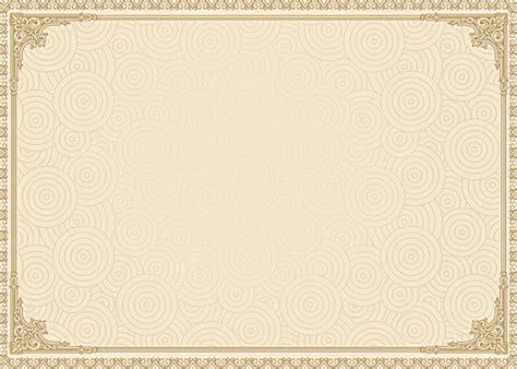 authorization certificate arabesco floral design de