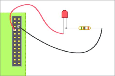 Simple Led Connection To Gpio 7.