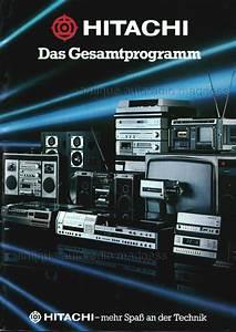 Hitachi Vintage Car Radio Catalogue 1980  1