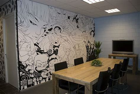 Anime Wallpaper For Walls - awesome wall mural anime black and white