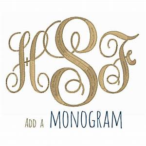 add 3 letter monogram machine embroidery curly by With letter embroidery machine