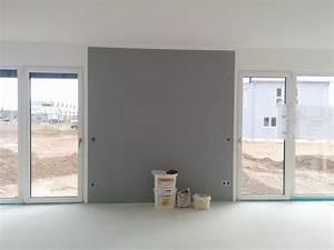 Graue Wandfarbe Wohnzimmer : graue w nde im wohnzimmer ~ Sanjose-hotels-ca.com Haus und Dekorationen