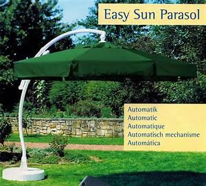 Ampelschirm Sun Garden : sun garden easy sun parasol ampelschirm 350 8 sonnenschirm automatik gr n blau ebay ~ Sanjose-hotels-ca.com Haus und Dekorationen