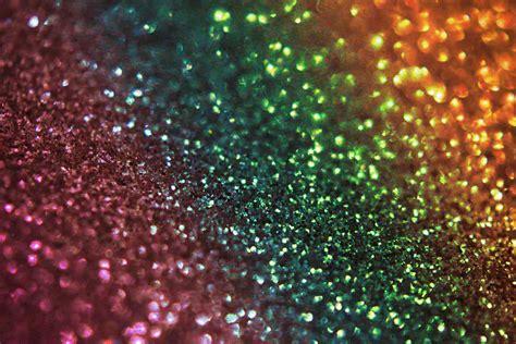 Free Vector Stock Rainbow Glitter Bokeh Texture