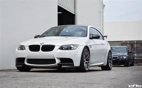 Mineral White by Mineral White Bmw M3 Gets Lowered And Tastefully Modded