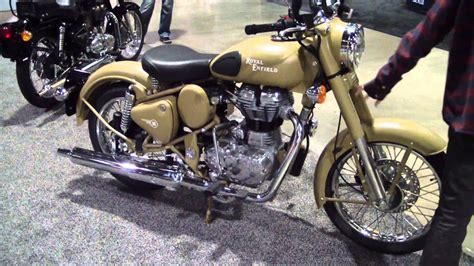 Enfield Image by Royal Enfield Desert Classic Bullet 500 Motorcycle