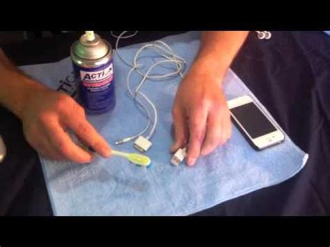 how to clean iphone charging port fix iphone not charging