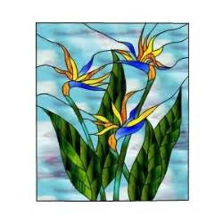 earring for men stained glass patterns bird of paradise flowers
