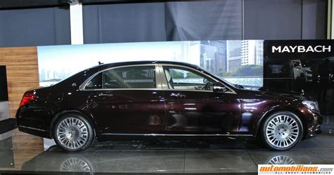 mercedes maybach  launched  india  rs  crores