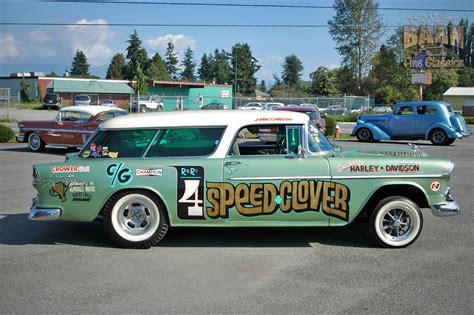 1955 Chevrolet Nomad Bel Air Belair Gasser Drag Dragster ...