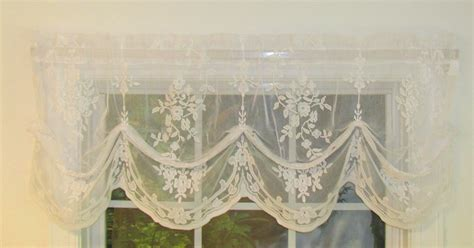 fiona lace balloon valance thecurtainshop