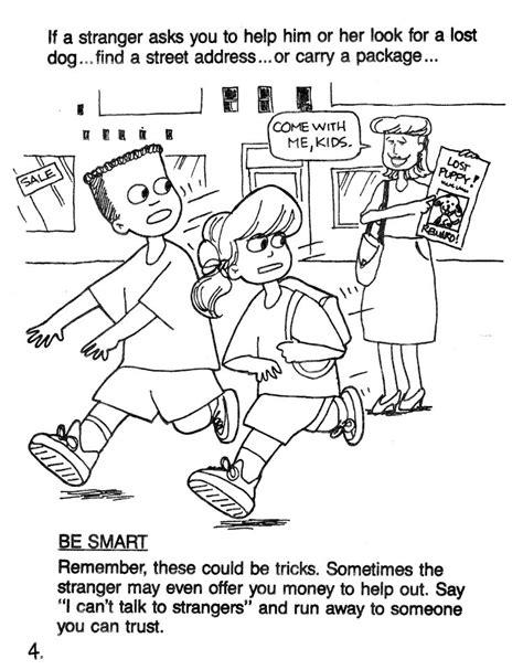 stranger safety for preschoolers stranger safety coloring sheet4 jpg 750 215 962 my 504