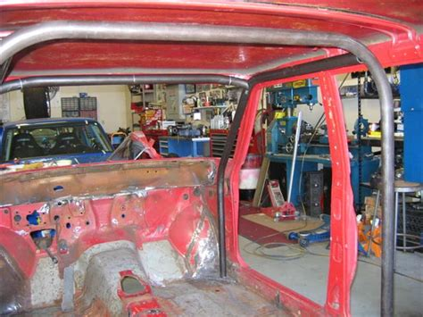 Datsun 510 Roll Cage by Datsun 510 Wagon Rollcage Racing On The Cheap