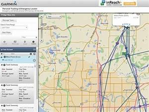 Garmin Explorer Personal Tracking Map