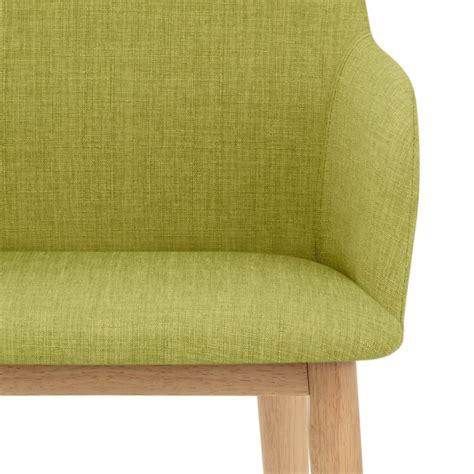 chaise en tissu albany chaise en bois et tissu monde du tabouret