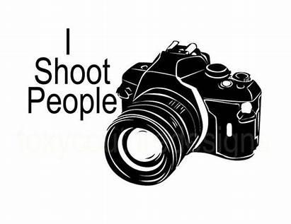 Shoot Camera Word Digital Cameras Sheet