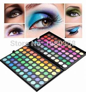 HOT Brand Eye Shadow Pro 120 Color Bright Colorful