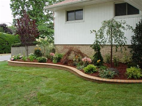 Simple Backyard Landscape Designs by Retaining Wall Front Yard Ideas New Home Ideas To Do