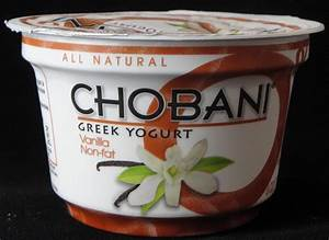 Chobani Greek Yogurt Vanilla Review - Flavor Scientist