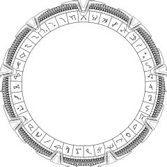 Archivo Milky Way Stargate With Very Detailed Glyphs Svg