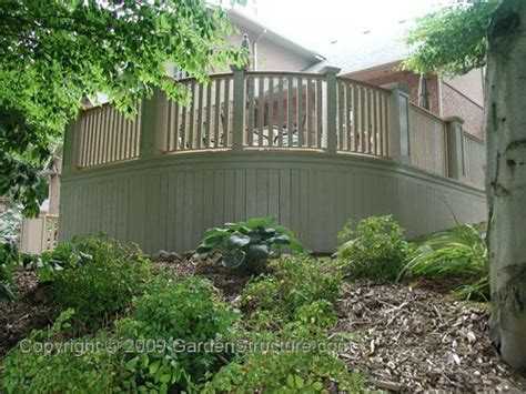 deck skirting other than lattice deck skirting designs