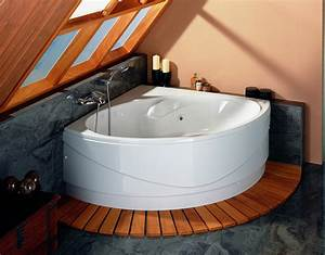 Grande Baignoire D Angle : baignoire baln o d 39 angle caract ristiques et bienfaits ~ Edinachiropracticcenter.com Idées de Décoration