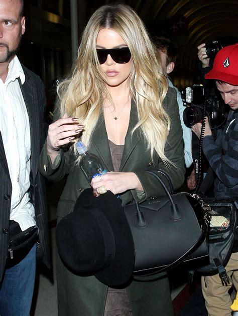 Khloe Kardashian Pics - at LAX Airport, April 2015 ...