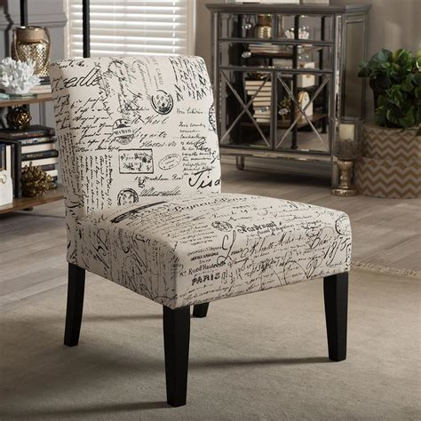 baxton studio phaedra multi color fabric dining chair