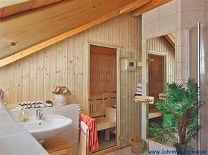 Sauna Unter Dachschräge : dachschr ge sauna schreiner straub wellness wohnen ~ Sanjose-hotels-ca.com Haus und Dekorationen