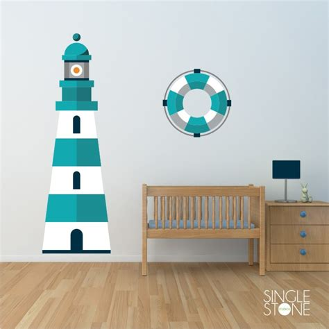 lighthouse wall clings lighthouse wall decals wall decals wall stickers vinyl wall art