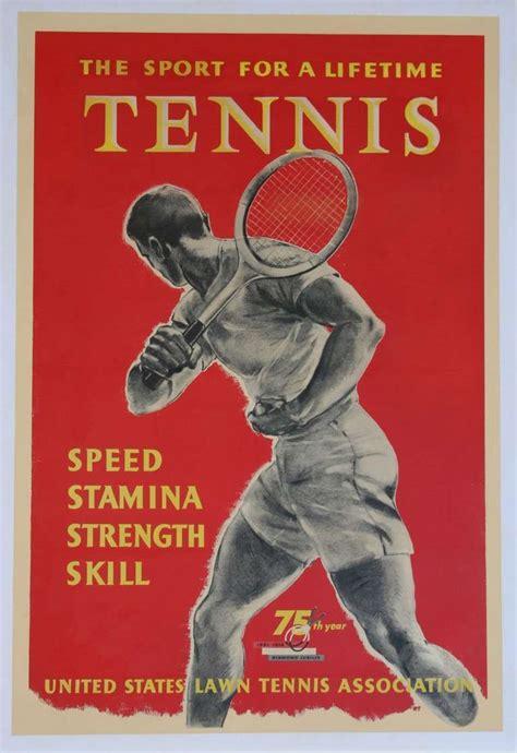 seventeen glorious tennis posters   flashbak