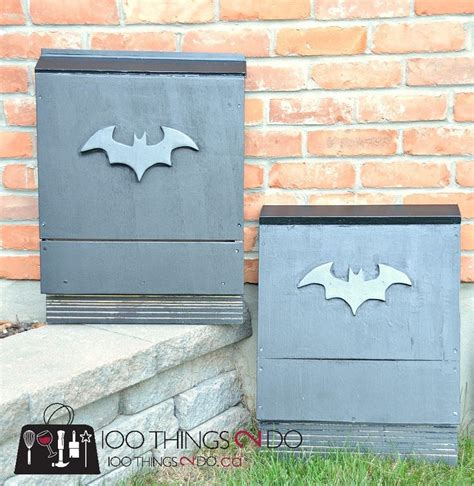 build your own bat box attract bats to your yard bat