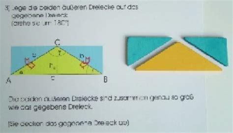 dreieck flaeche berechnen