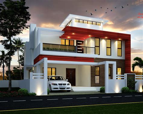 Duplex House Designed By Si Consultants  Amazing