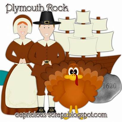Pilgrims Clipart Thanksgiving Indians Pilgrim Settled America