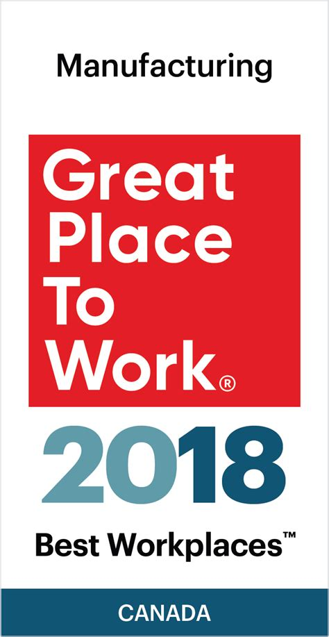 The Best Place To Work by Best Workplaces In Manufacturing 2018 Great Place To