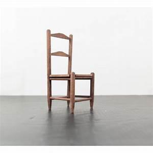 Chaise Vintage Bois : chaise miniature vintage en bois ~ Teatrodelosmanantiales.com Idées de Décoration