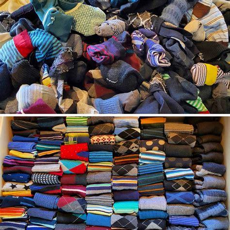 Minimalismus Vorher Nachher by Socken Vorher Nachher Mit Der Konmari Methode