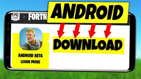 fortnite mobile android beta official