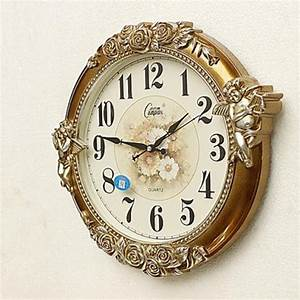 Europe, Style, Retro, Wall, Clock, Pastoral, Creative, Living, Room, Wall, Large, Decorative, Clocks, Vintage