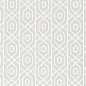 Prescott Wallpaper in Grey